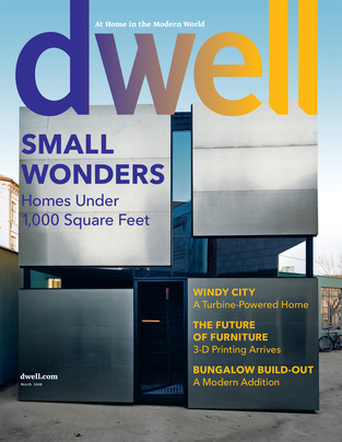 Dwell March 2008 cover