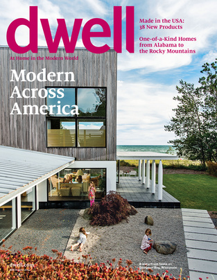 dwell july/august cover