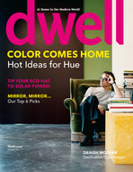 dwell cover 2008 february color comes home