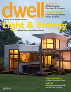 Cover of Dwell's residential architecture and lighting design issue