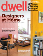 Modern homes in Dwell July/August magazine