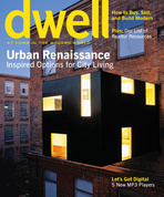 dwell cover 2005 september urban renaissance
