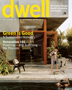 dwell cover 2006 december january green is good
