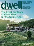 Dwell Magazine April 2014 Cover The Great Outdoors Endless Ideas for Modern Living