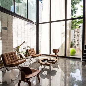 Raw House living room