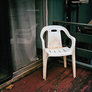 white plastic patio chair Flickr group