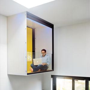 master bedroom interior balcony cube