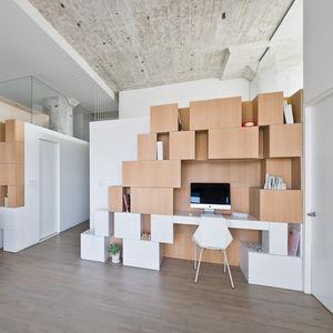 doehler renovation kitchen office desk