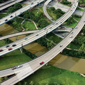 urban waterways houston buffalo bayou trails native plants bridges paths