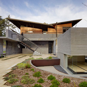 fu tung cheng concrete designer house 7 los altos california