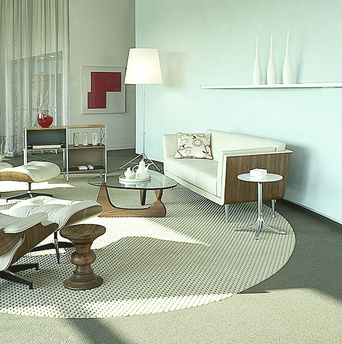Authentic furniture pieces from Herman Miller
