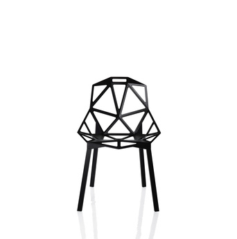 "Chair One by Konstantin Grcic for <a href=""http://www.dwell.com/organization/magis"">Magis</a>."