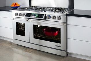 high-tech modern oven