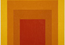 """Homage to the Square: Glow,"" 1966."