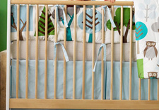 DwellStudio crib set.