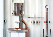 modern design ideas copper