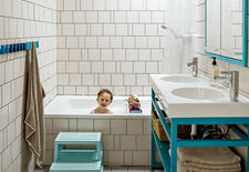 modern bathroom storage design solutions