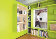 tokyo, home office, bookshelf