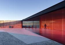 modern architecture design glenorchy sculpture park pavilion glass interior