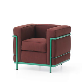 LC2 Color Le Corbusier Cassina lounge chair