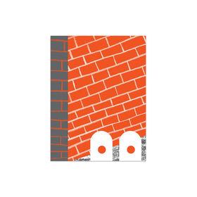 Red Brick Print  crop