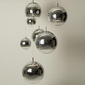 YLighting Tom Dixon 7 mirror ball lamps