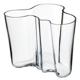 clear vase