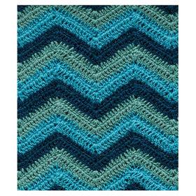 amenity alpaca afghan ocean blue knit