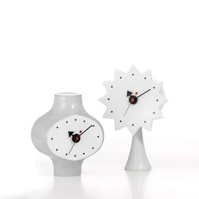 ceramic clock model 2 and 3 george nelson clocks