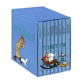 the adventures of tintin book