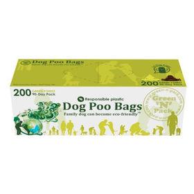 pets green poop bags