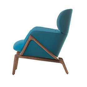 modern furniture design frame structure De La Espade Elysia Lounge Chair