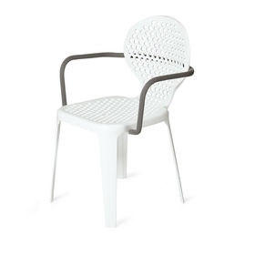 bolo dining chair triconfort aluminum white