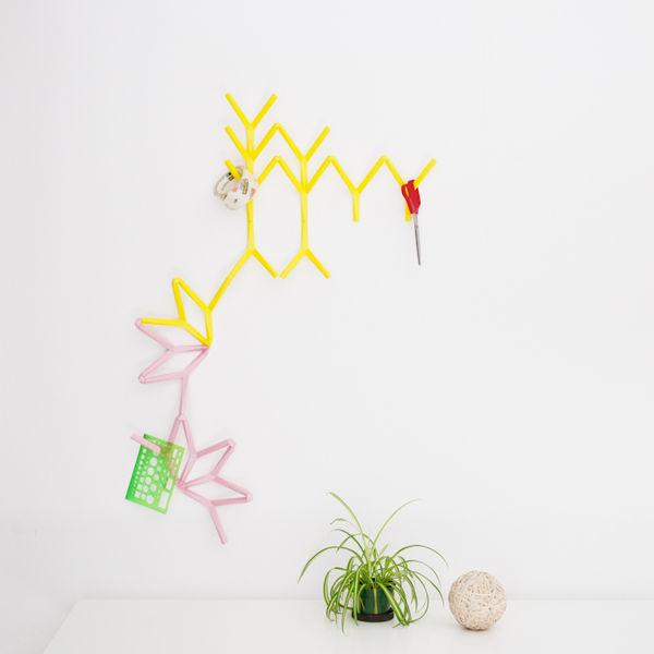 Ivy Pink Yellow display