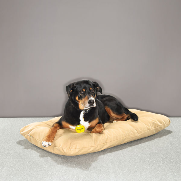 dog beds george burlap mattress cover