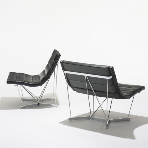 george nelson associates catenary chairs model 6380 wright