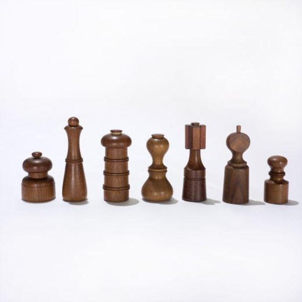jens quistgaard peppermills collection of twenty two wright