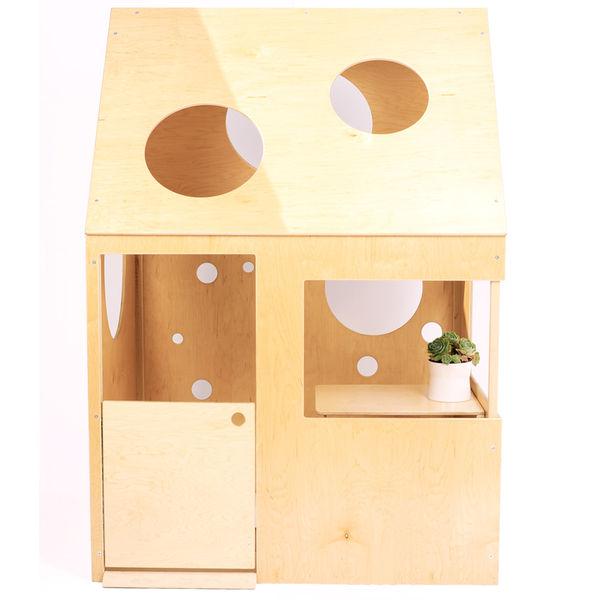modern playhouse circle assembled