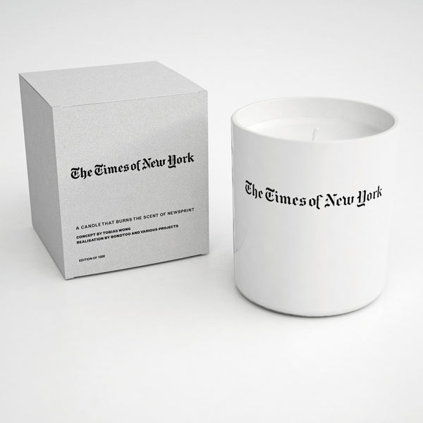times of newyork candle