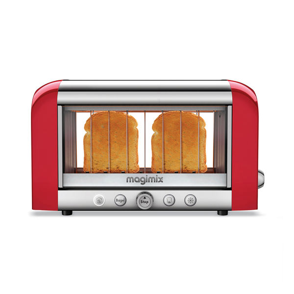 World's first see-through toaster