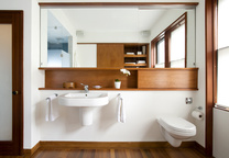 Brookline Massachusetts Bathroom Vanity