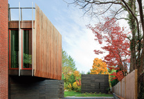 wooden Newton House Massachusetts by NADAAA