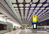 heathrow international airport london interior