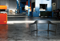 magis steelwood chair factory