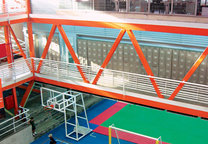 urban think tank vertical gymnasium interior