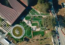 san francisco california deyoung museum landscape architecture aerial