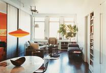 carmel house living room