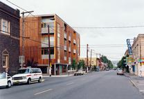 belmont street lofts exterior street view