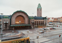 helsinki finland central railway station