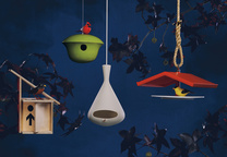 moder birdhouses assortment view a